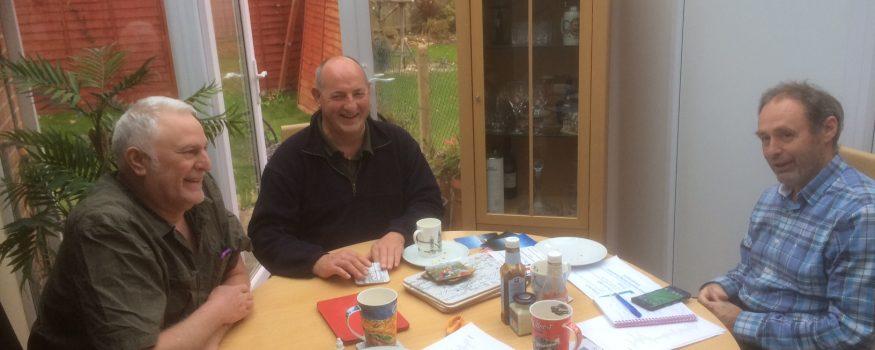 Visa Marketing Meeting Lofty Jeff Andrew